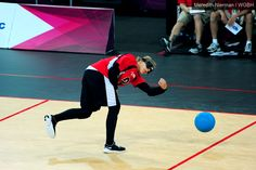 Amanda Dennis of USA goalball - 2012 Paralympic Games, London