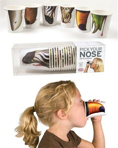 animals, 2013 zoo, pack 24, birthday parties, 24 cups795, nose cup, anim pack, paper cups, kid parties