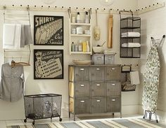 Laundry Room Ideas & Laundry Room Storage   Pottery Barn