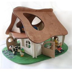 Waldorf Wooden Doll House