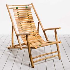 This island-style chair is made of bamboo.   by Bamboo54 and available at wayfair.com   Photo: Burcu Avsar