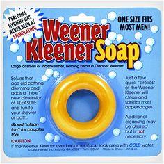 Weener Kleener Soap - the next white elephant gift? LOL