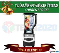 DAY 1 PRIZE: A Ninja Blender Valued at $130!