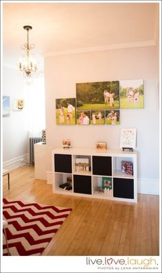 Link is for 5 steps to help you find a perfect retail space photo, pinned for the photo arrangement.