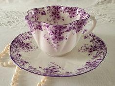 Shelley...dainty purple