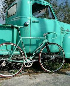 truck + bike