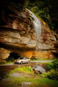Bridal Veil Falls ~ Highlands NC