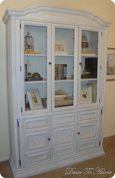 white china cabinets, room decor, cabinet color, nook