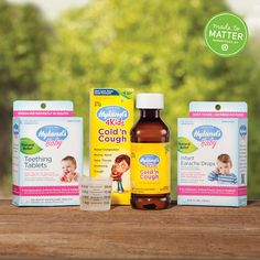 Medicine cabinet must-haves. Part of the Made to Matter handpicked by Target collection, Hyland's has all natural solutions for babies and toddlers that parents have to try.