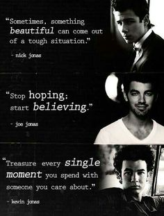 Jonas Brothers <3 such an inspiration