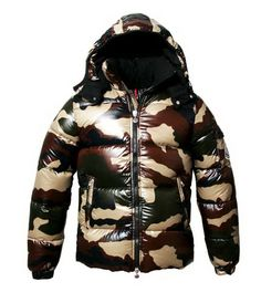 Buy Camouflage Moncler Himalaya Down Jacket for Men