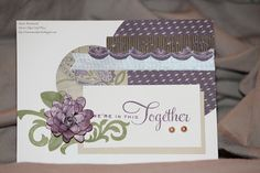 card by Maria Woodworth using CTMH Sonoma paper