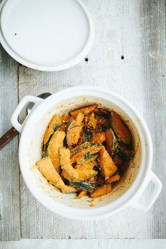 Sake-Steamed Kabocha Squash with Miso // the year in food by continental drift, via Flickr
