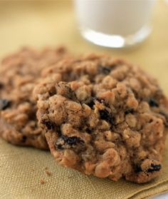 Carrot Cake Cookies You can skip the cream cheese glaze when it comes to these chunky carrot cake cookies. They're tasty enough with a sweet, moist texture from crushed pineapple and juicy raisins. Plus, a cup of freshly grated carrots means these cookies are loaded with fiber. carrot cakes, cake cookies, bake, food, 10 healthi, carrots, healthy cookie recipes, cooki recip, healthi cooki