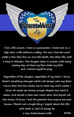 The Police Wife Life