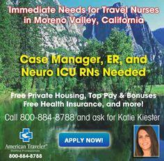 Travel Nurse Jobs Nationwide On Pinterest Registered Nurses Nurses And Travel