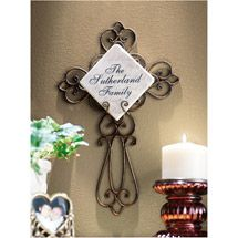 Walmart: Personalized Wrought-Iron Cross