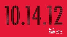 Running the Nike women's half marathon this year :)