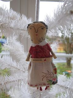 papier mache doll