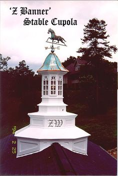 Award Winning Artistic Cupolas.  Copper Dome Bell Roofs  Copper Weather vanes,  Lighted Cupolas.  Wood cupolas, window cupolas  Copper roofs, copper finials