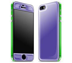 Purple / Green iPhone 5s - Glow Gel Combo