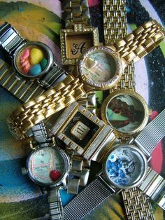 Great use for old watches!