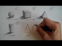 drawing tutorials, art video, art lesson, shade form, form video