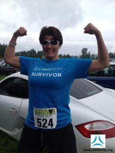 Stage IV lung cancer survivor