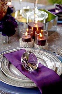 More purple and silver