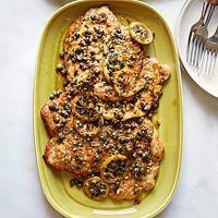 Rachael Ray  chicken piccata