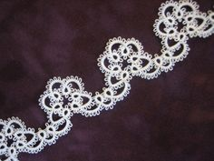 Tatted Lace Edging. $8.00, via Etsy.