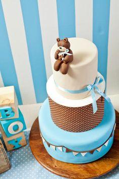Adorable Teddy Bear Baby Shower