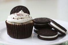 heaven, cream oreo, recipe cards, cake mixes, cooki, birthday cupcakes, white cakes, cupcake cakes, oreo cupcakes