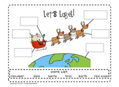 Labeling Holiday Freebie