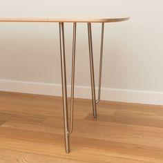 Leg Detail of Crestview Dining Table by Piet Houtenbos