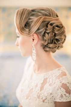 Elaborate and elegant updo | Anastasiya Belik Photography