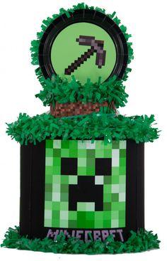 World of Pinatas - Minecraft Personalized Pinata, $39.99 (http://www.worldofpinatas.com/minecraft-personalized-pinata/)