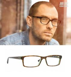 Vogue Eyewear & Jude Law