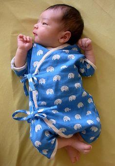 Baby Kimono with Jap