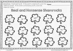 Mrs. Lowes' Kindergarten Korner: No Prep Spring Holiday Math and Literacy Printables