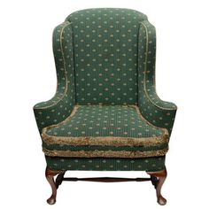 Vintage Wing Chair now featured on Fab.