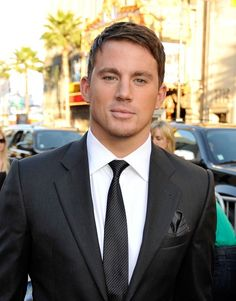 guys in suits! HOT!  Channing Tatum.