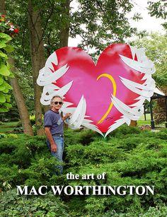 """Earth Angel""  7' x 6' x 6""  http://www.macworthington.com/  macwartist@aol.com"