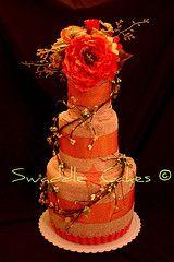 diaper cake, towel cakes, parisian bridal, mariana bridal, diy craft, towel gift, lime, bridal shower, towels