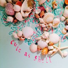 Lilly Pulitzer Store Shell Wall Decor