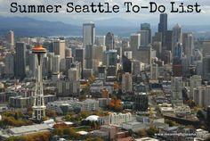 75 Seattle Summer Fun Activities