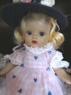 My Vintage 1950's Muffie Doll....