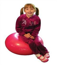 The Donut exercise ball is a great sensory tool for those needing a bit more sensory play in their day.http://www.sensoryedge.com/donut-exercise-ball.html