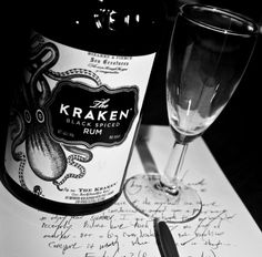 The Kraken is my favorite new rum. Mix with ginger beer for Dark 'n' Stormies. #spirits #cocktails