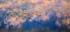 Center Panel/ MOMA / Monet / Water Lilies